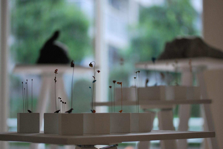 「東影智裕 立体展」あるぴいの銀花ギャラリー 2011年(埼玉県 さいたま市)