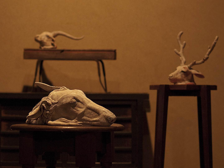 「東影智裕展」ギャラリー上り屋敷 2014年(東京都 池袋)